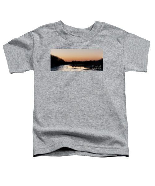 Sunset Over The Republican River Toddler T-Shirt
