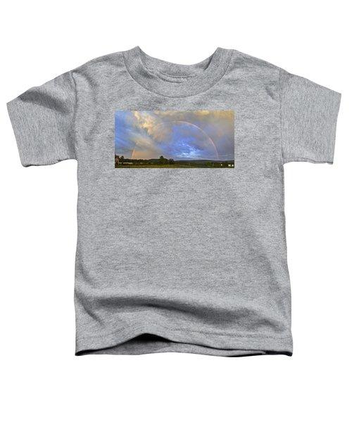 Sunset Rainbow Toddler T-Shirt