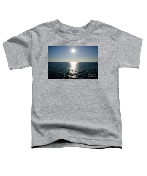 Sunshine Over The Mediterranean Sea Toddler T-Shirt