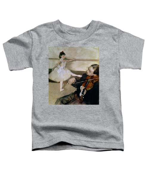 The Dance Lesson Toddler T-Shirt