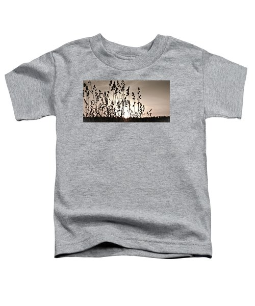 The Grass At Sunset Toddler T-Shirt