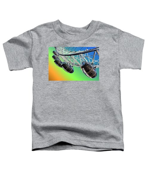 The London Eye Abstract View  Toddler T-Shirt