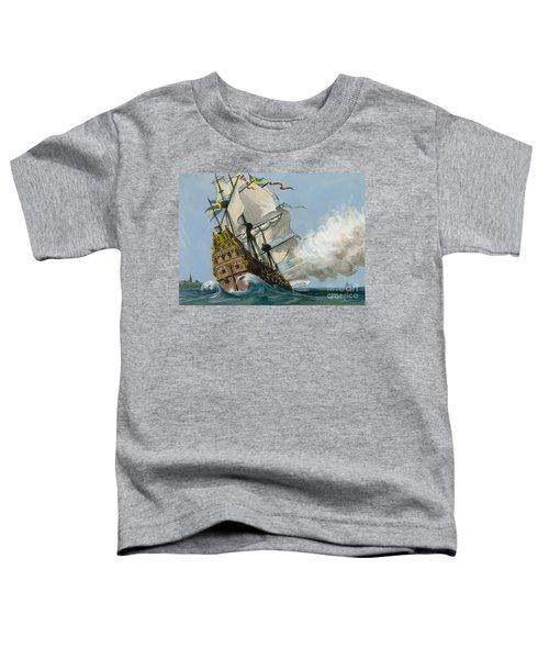 The Swedish Warship Vasa Toddler T-Shirt