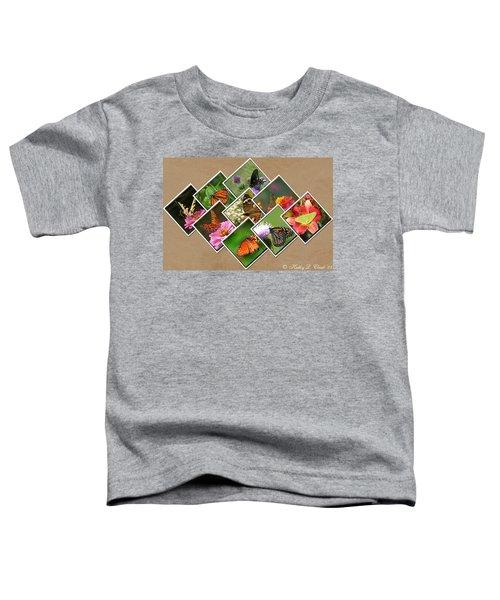 Them Glorious Butterflies Toddler T-Shirt