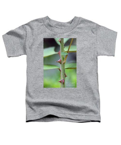 Thorny Stem Toddler T-Shirt