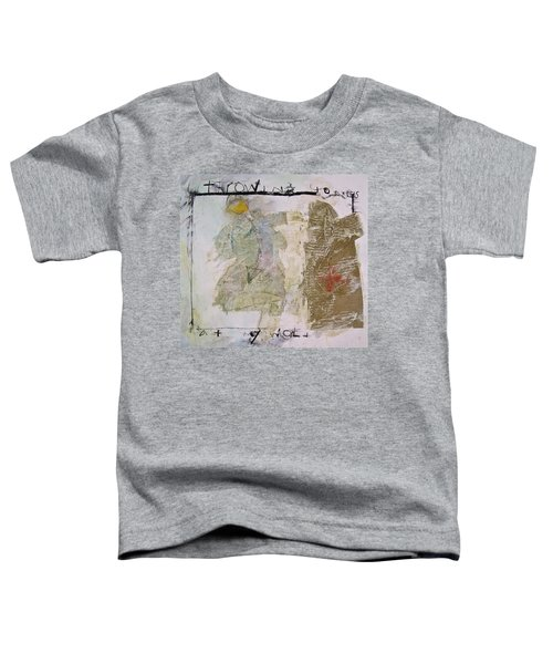 Throwing Stones At My World Toddler T-Shirt