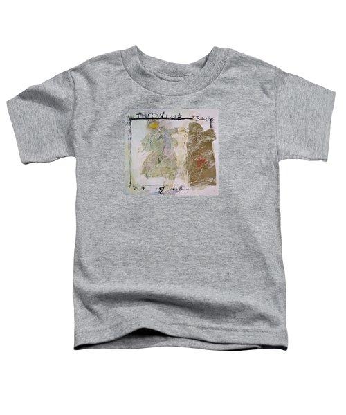 Throwing Stones At My World Toddler T-Shirt
