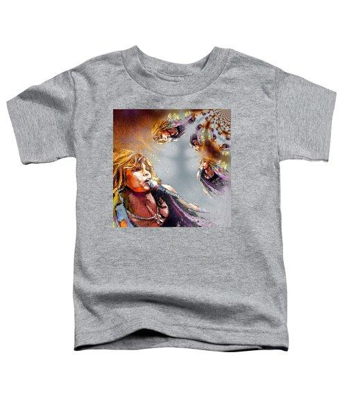 Tyler Mania Toddler T-Shirt by Miki De Goodaboom