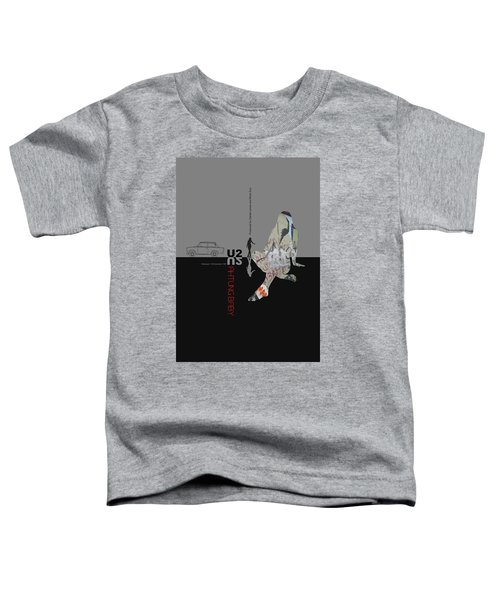 U2 Poster Toddler T-Shirt