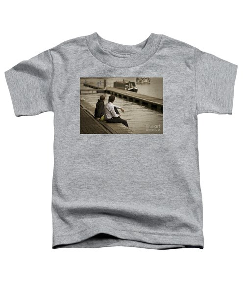 Watching The World Go By Toddler T-Shirt