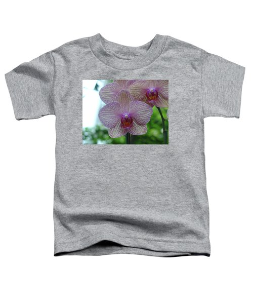 White And Pink Orchid Toddler T-Shirt