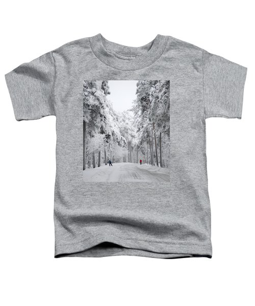 Winter Activities Toddler T-Shirt