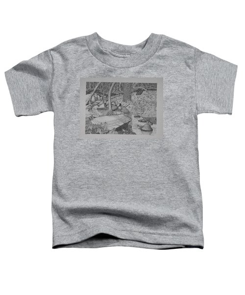 Woodland Stream Toddler T-Shirt