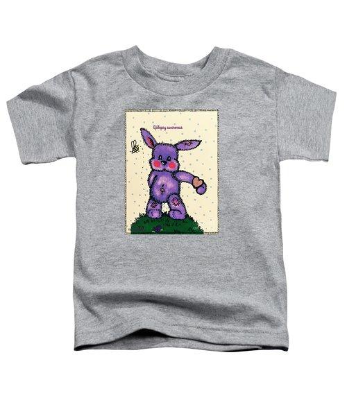 Epilepsy Awareness Bunny Toddler T-Shirt