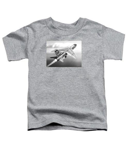 F-8e Crusader Drawing Toddler T-Shirt