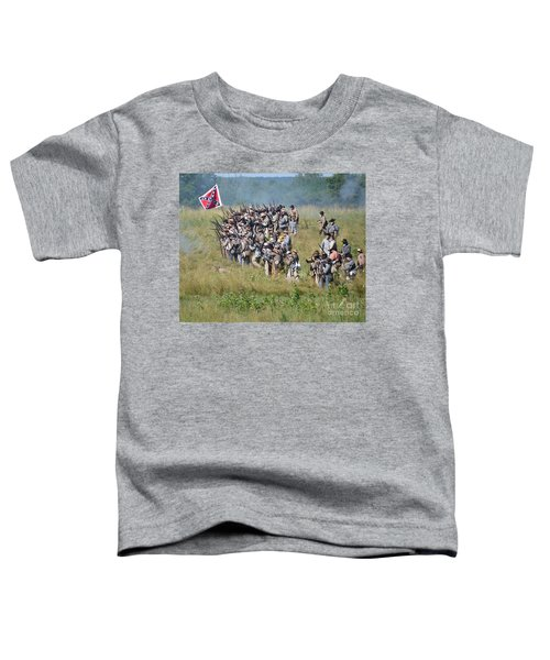 Gettysburg Confederate Infantry 9015c Toddler T-Shirt