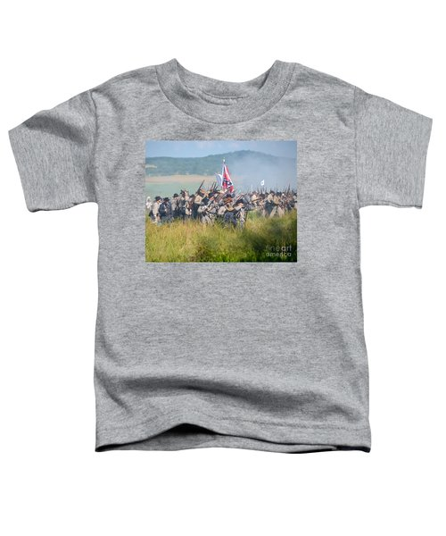 Gettysburg Confederate Infantry 9214c Toddler T-Shirt