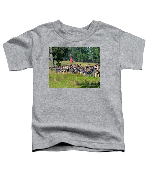 Gettysburg Confederate Infantry 9270c Toddler T-Shirt