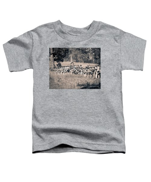 Gettysburg Confederate Infantry 9270s Toddler T-Shirt