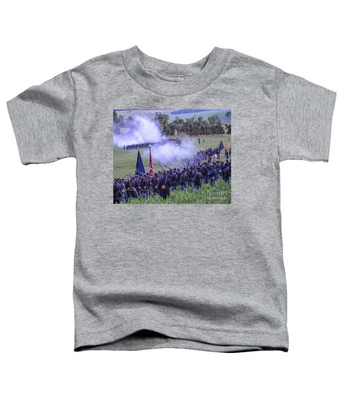 Gettysburg Union Artillery And Infantry 7496c Toddler T-Shirt