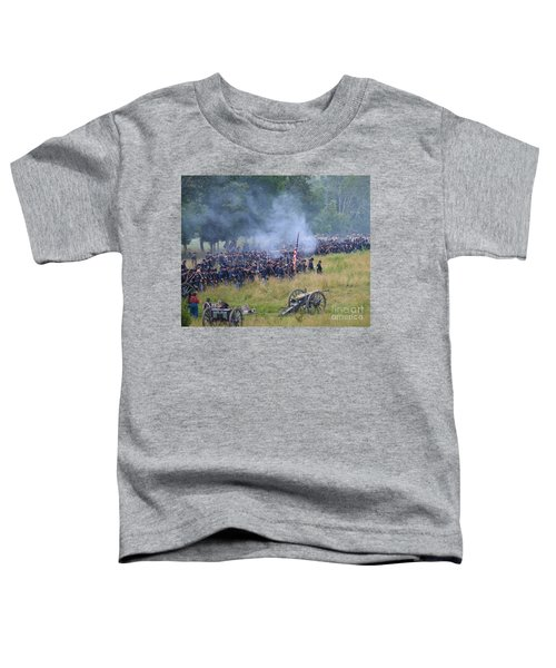 Gettysburg Union Artillery And Infantry 8456c Toddler T-Shirt