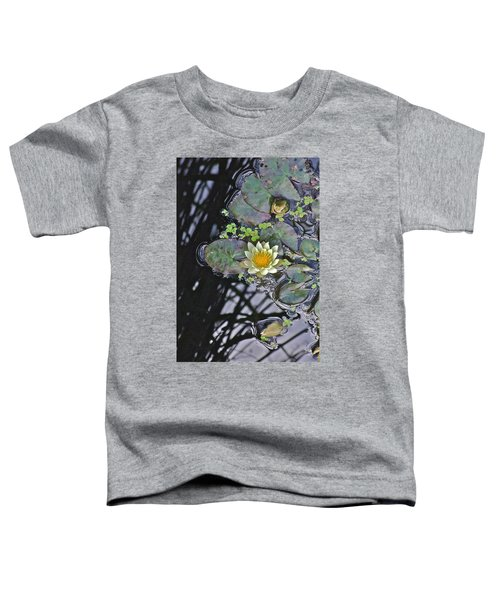 September White Water Lily Toddler T-Shirt