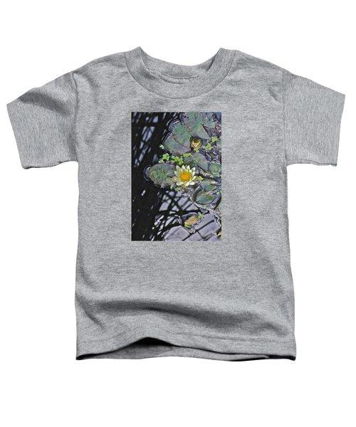September White Water Lily Toddler T-Shirt
