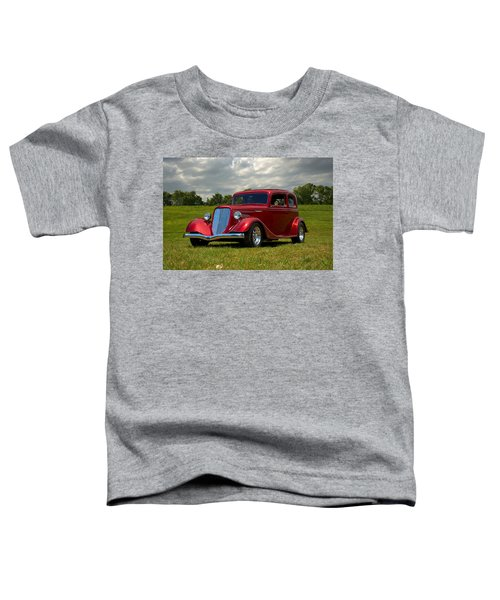 1933 Ford Vicky Hot Rod Toddler T-Shirt
