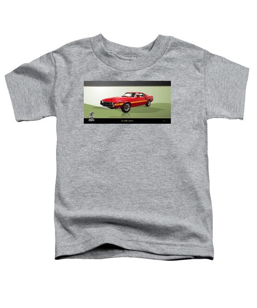 1969 Shelby V8 Gt350  Toddler T-Shirt