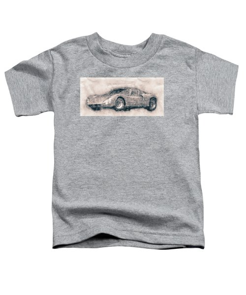 Alfa Romeo 33 Stradale - 1967 - Automotive Art - Car Posters Toddler T-Shirt