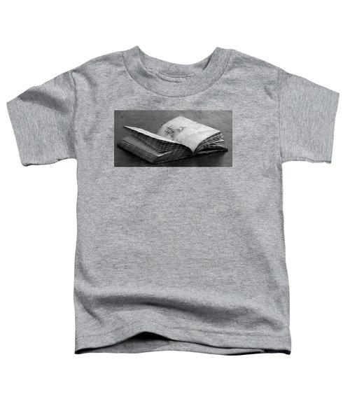 Antique Notebook Toddler T-Shirt