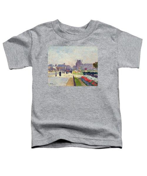 Avenue Paul Deroulede Toddler T-Shirt by Jules Ernest Renoux