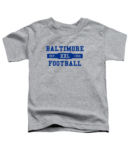 Baltimore Colts Retro Shirt Toddler T-Shirt