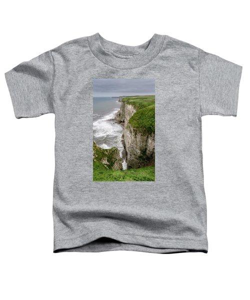 Bempton Cliffs Toddler T-Shirt by Nigel Wooding