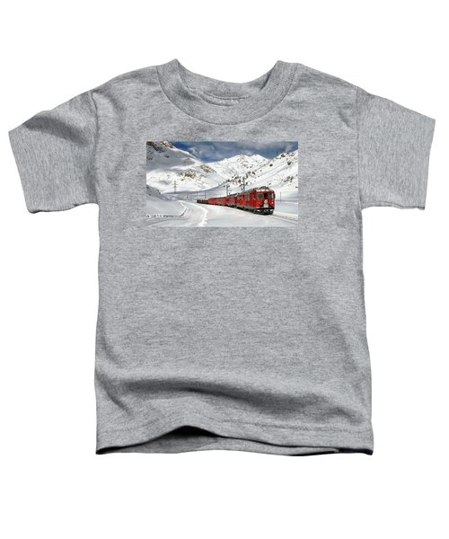 Bernina Winter Express Toddler T-Shirt