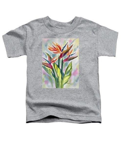Bird Of Paradise Flowers Toddler T-Shirt