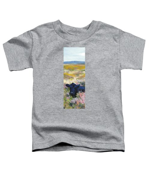 Black Cow Dartmoor Toddler T-Shirt