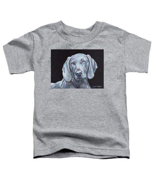 Blue Weimaraner Toddler T-Shirt