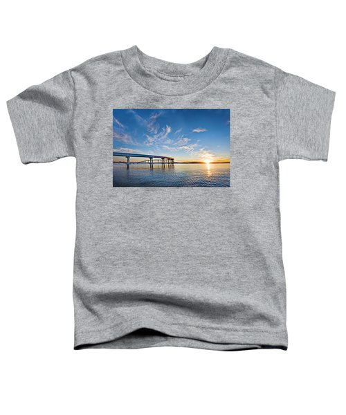 Bridge Sunrise Toddler T-Shirt