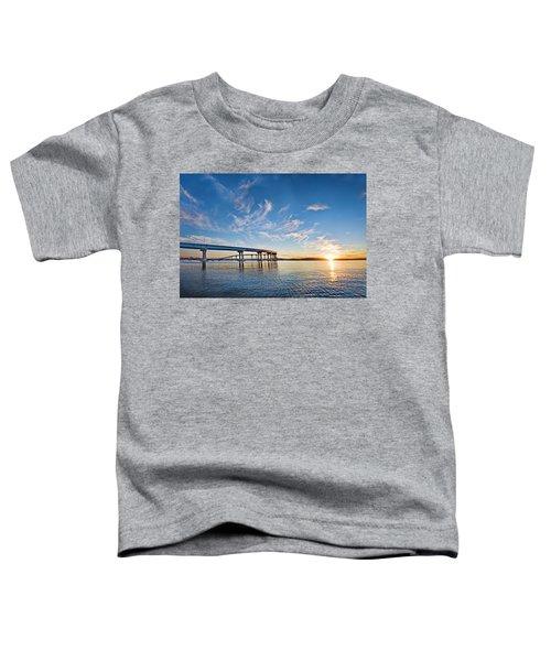 Bridge Sunrise Toddler T-Shirt