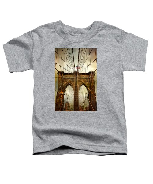 Brooklyn Bridge Twilight Toddler T-Shirt