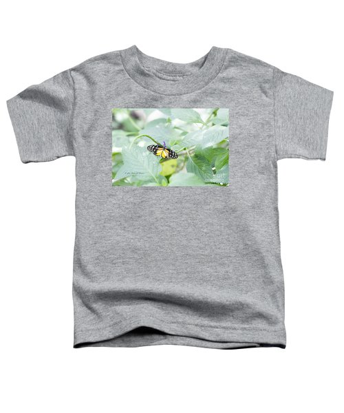 Tiger Butterfly Toddler T-Shirt