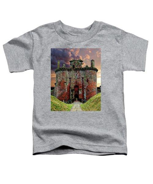 Caerlaverock Castle Toddler T-Shirt
