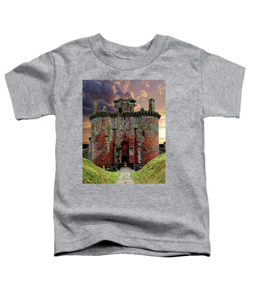 Caerlaverock Castle Toddler T-Shirt