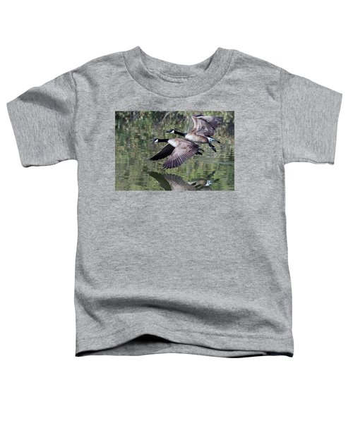 Canada Geese Toddler T-Shirt