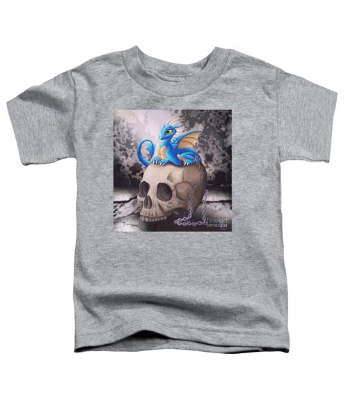 Captive Dragon On An Old Skull Toddler T-Shirt