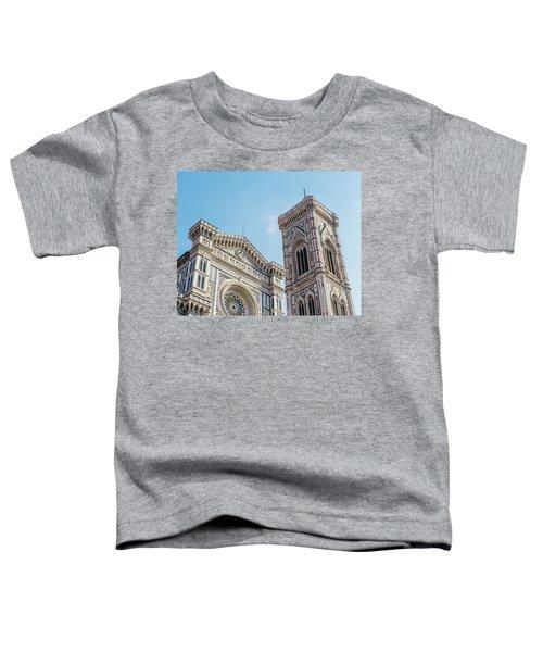 Cattedrale Di Santa Maria Del Fiore Is The Main Church Of Floren Toddler T-Shirt