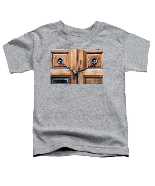Chained Door Toddler T-Shirt