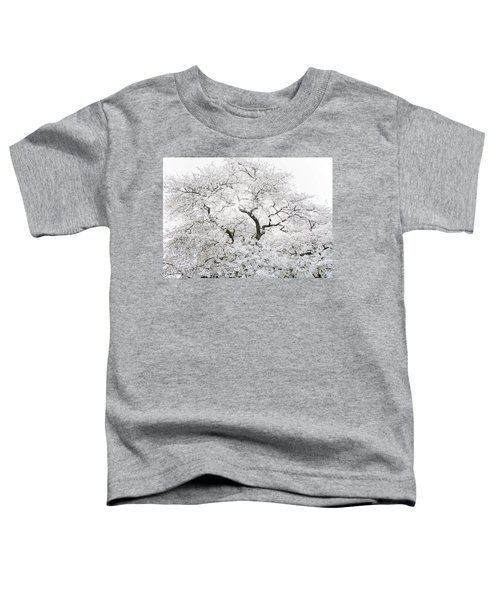 Toddler T-Shirt featuring the photograph Cherry Blossoms by Peter Simmons