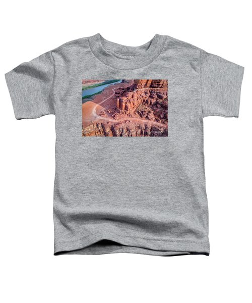 Chicken Corner Trail And Colorado River Toddler T-Shirt